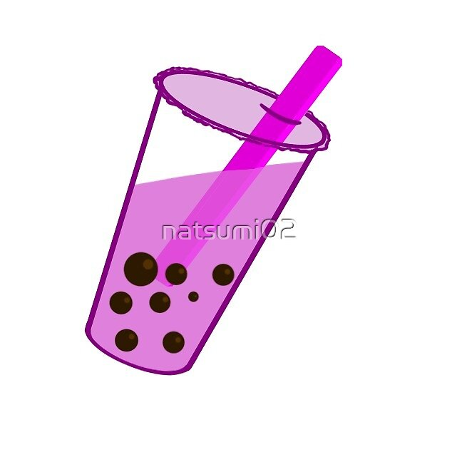 Pink Bubble Tea by natsumi02