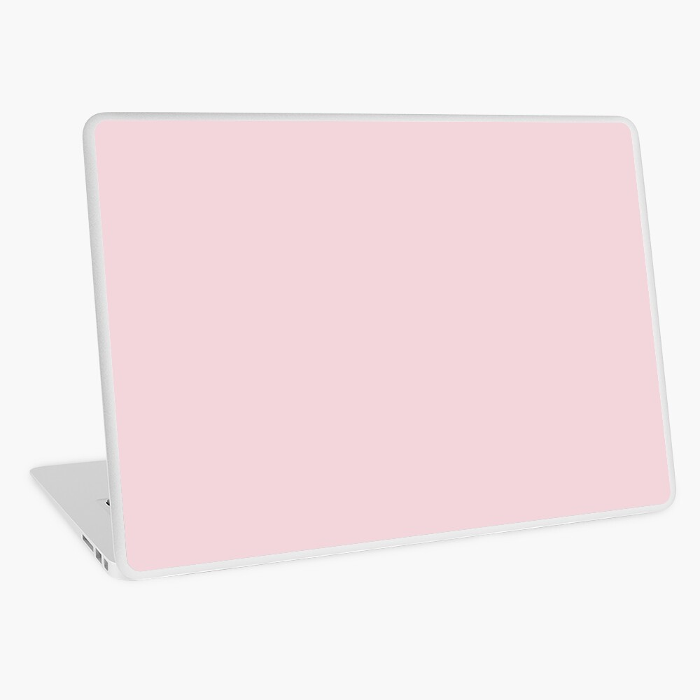 BEAUTIFUL COLORS | BLUSH PINK | COTTON CANDY | LIGHT PINK OVER 100 SHADES OF PINK AT OZCUSHIONS Laptop Skin
