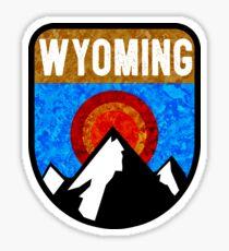 WYOMING MOUNTAINS SUN GRAND TETON YELLOWSTONE JACKSON SKIING PINEDALE CHEYENNE CASPER CODY Sticker