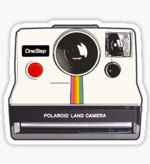 Polaroid Camera illustration drawing sticker Sticker