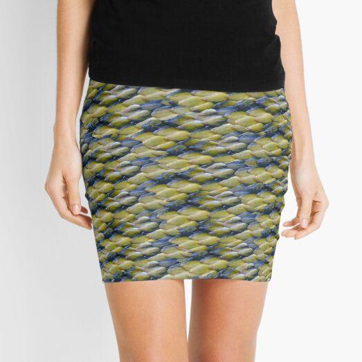 Lizard print Mini Skirt