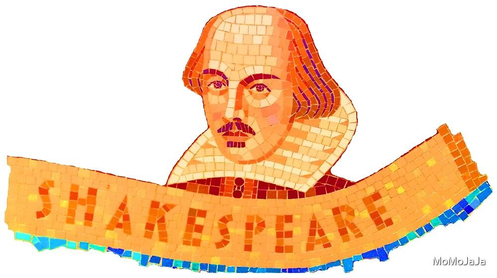 Shakespeare Mosaic by MoMoJaJa