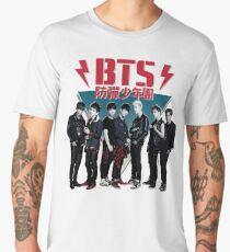 BTS - 80's Vintage (Dark & Wild) Men's Premium T-Shirt