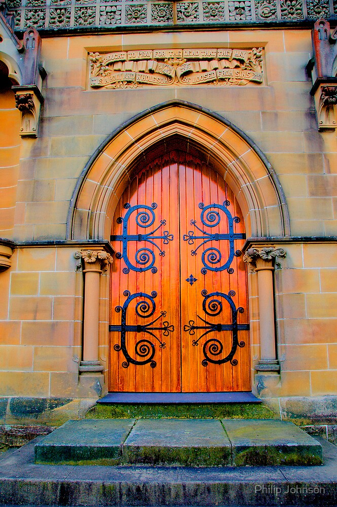 Eternity -St Michael the Archangel Chapel (commenced in 1886) - HDR  Series by Philip Johnson