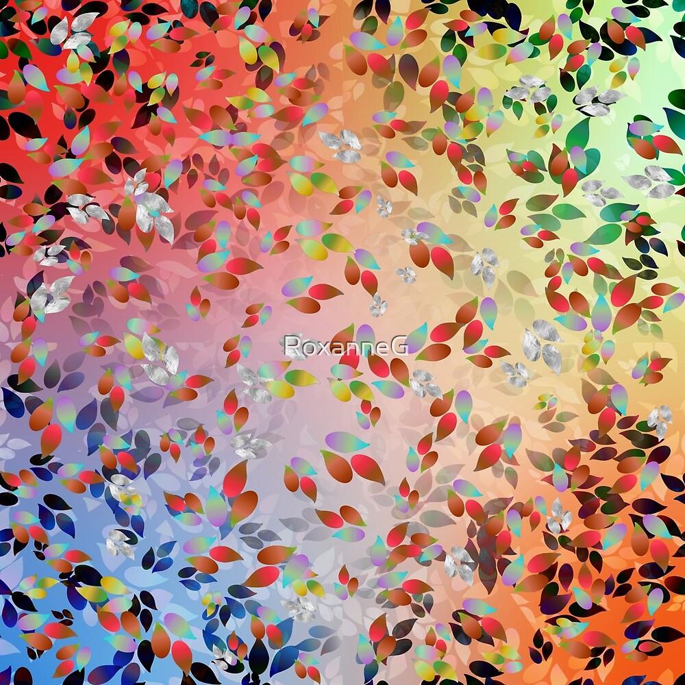 Teardrop Leaves by RoxanneG