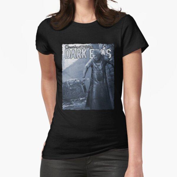 Dark Eras Art: Beneath the Skin Fitted T-Shirt