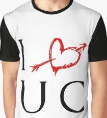 I Luv UC Graphic T-Shirt