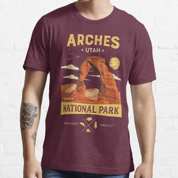 Arches National Park Vintage Utah T Shirt Essential T-Shirt