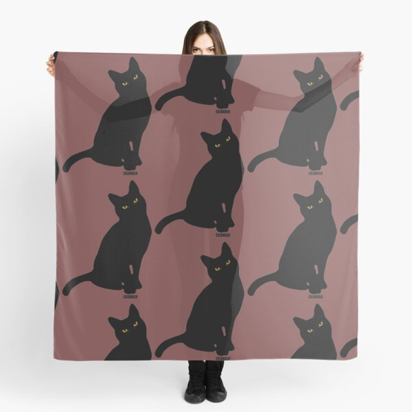 BLACK CAT Scarf