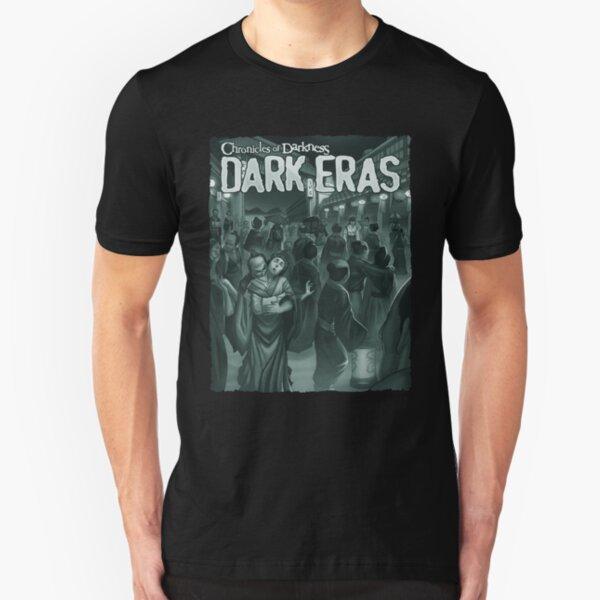 Dark Eras Art: Fallen Blossoms Slim Fit T-Shirt