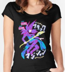 DARK MAGICIAN (ブラック・マジシャン) Women's Fitted Scoop T-Shirt