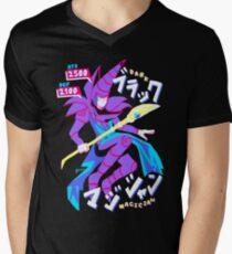 DARK MAGICIAN (ブラック・マジシャン) Men's V-Neck T-Shirt