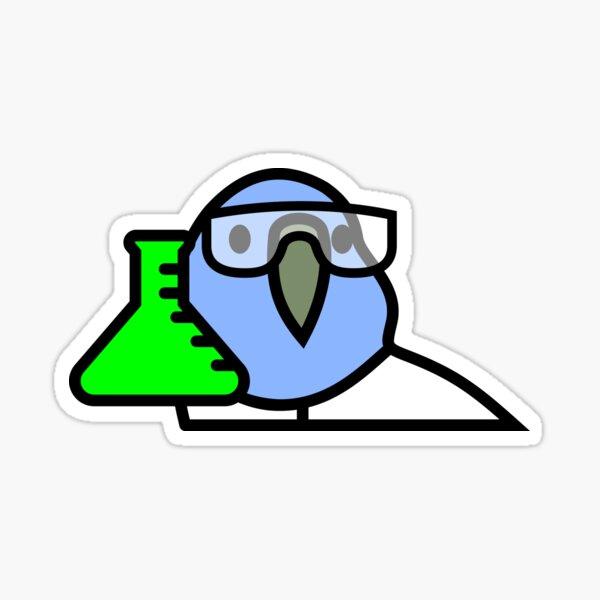 PartyParrot - Science Parrot Sticker