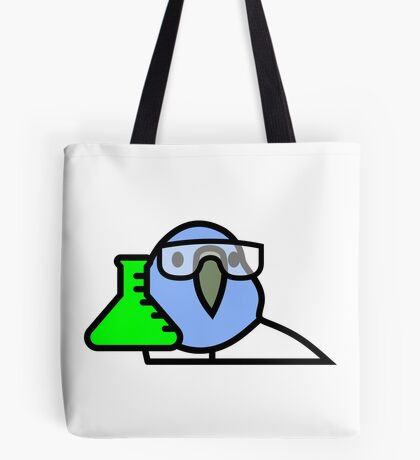 PartyParrot - Science Parrot Tote Bag