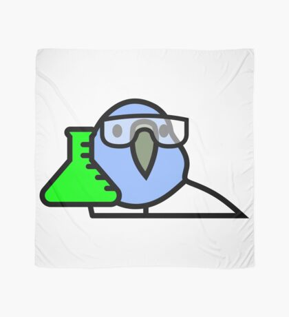 PartyParrot - Science Parrot Scarf