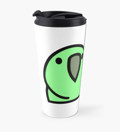 PartyParrot - Green Travel Mug