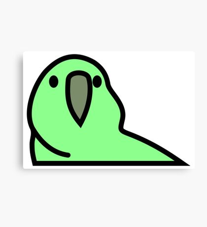 PartyParrot - Green Canvas Print
