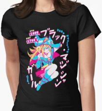 DARK MAGICIAN GIRL (ブラック・マジシャン・ガール) Women's Fitted T-Shirt