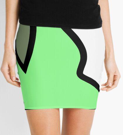 PartyParrot - Green Mini Skirt