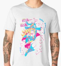 DARK MAGICIAN GIRL (ブラック・マジシャン・ガール) Men's Premium T-Shirt