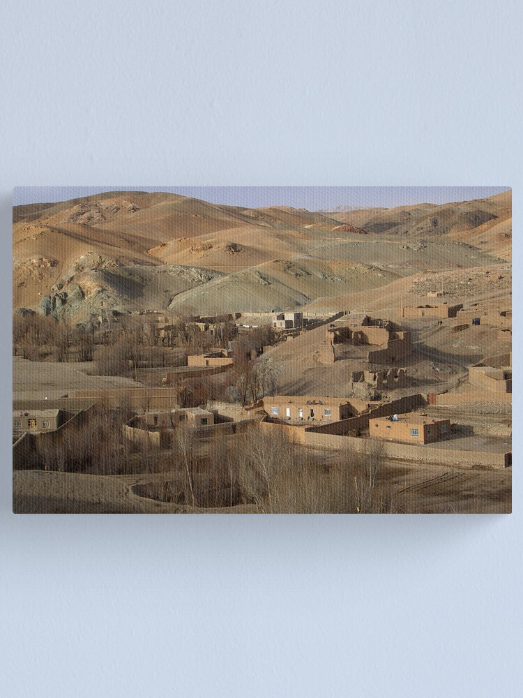 Alternate view of The Walls Canvas Print