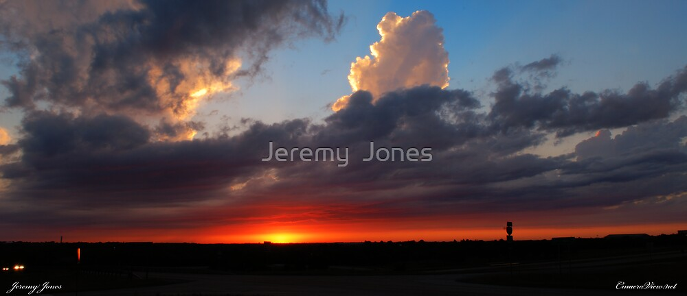 """Sunset Crossroads"" by Jeremy  Jones"