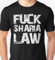 Fuck Sharia Law  T-Shirt