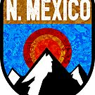 NEW MEXICO MOUNTAINS SUN TAOS CARLSBAD CAVERNS SANTA FE by MyHandmadeSigns