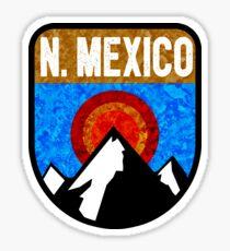NEW MEXICO MOUNTAINS SUN TAOS CARLSBAD CAVERNS SANTA FE Sticker