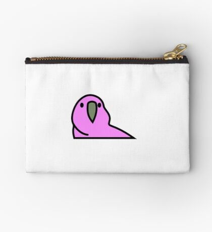 PartyParrot - Pink Studio Pouch