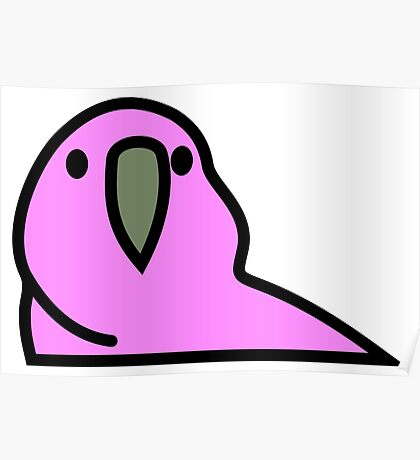 PartyParrot - Pink Poster