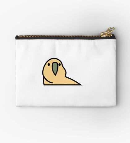 PartyParrot - Yellow Studio Pouch