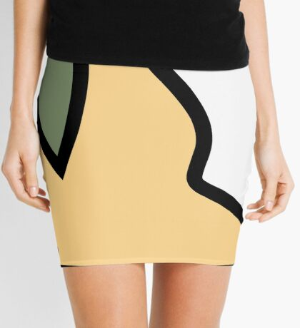 PartyParrot - Yellow Mini Skirt