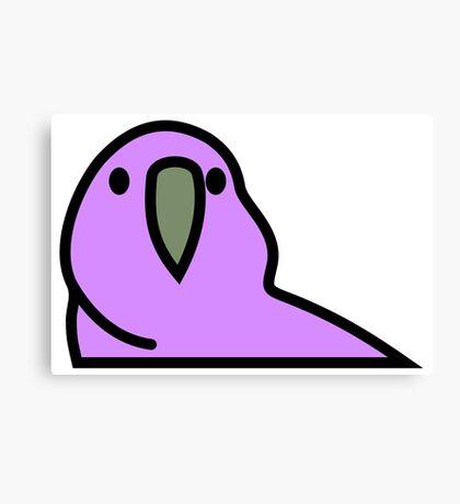 PartyParrot - Purple Canvas Print