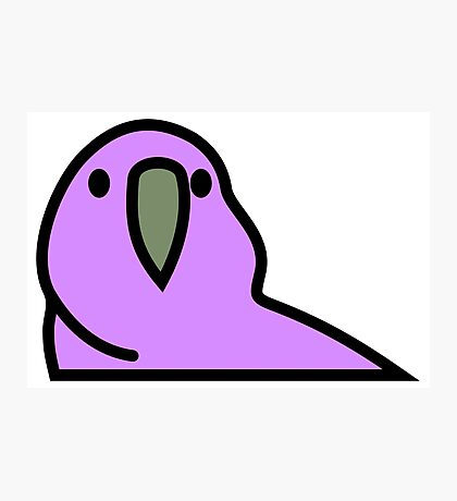 PartyParrot - Purple Photographic Print