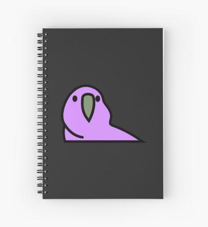 PartyParrot - Purple Spiral Notebook