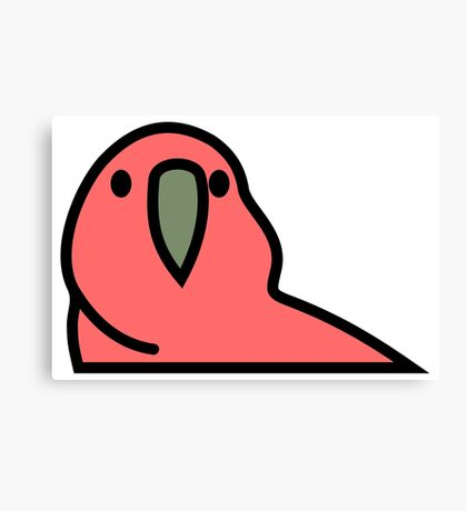 PartyParrot - Red Canvas Print