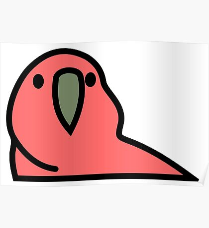 PartyParrot - Red Poster