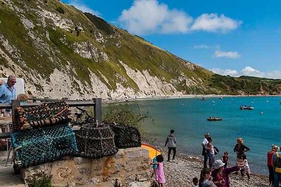 Lulworth Cove by Jim Hellier