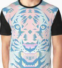 Pastel Quartz Tiger Graphic T-Shirt