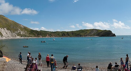 The Cove Lulworth by Jim Hellier