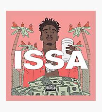 ISSA - The 21 Savage Photographic Print