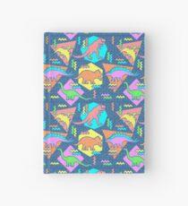 Nineties Dinosaurs Pattern Hardcover Journal