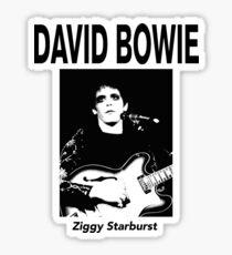 David Bowie Ziggy  Sticker
