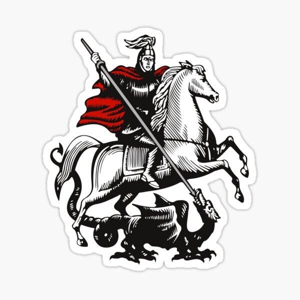 Saint George Sticker