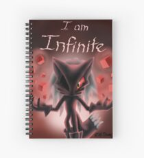 I am Infinite Spiral Notebook