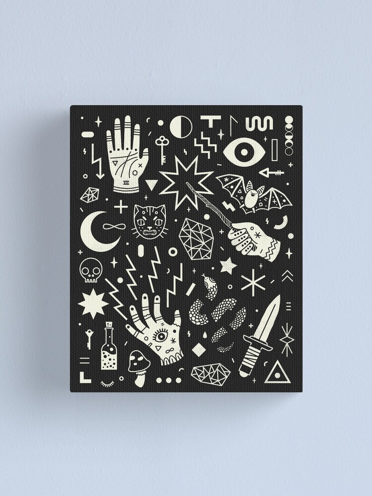 Alternate view of Witchcraft Canvas Print