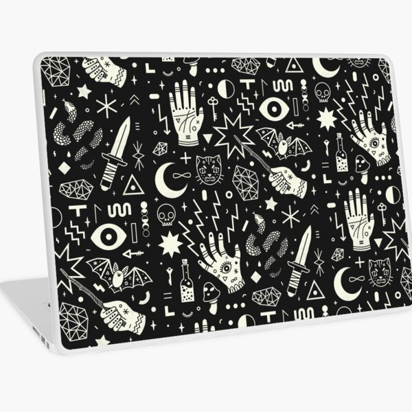 Witchcraft Laptop Skin