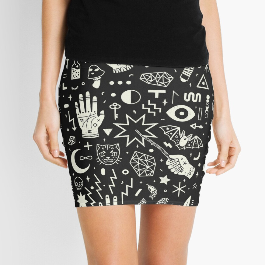 Witchcraft Mini Skirt