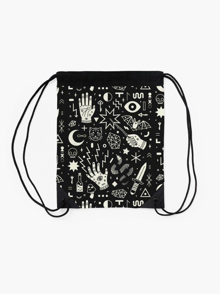 Alternate view of Witchcraft Drawstring Bag